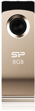 Flash Drive Silicon Power Touch 825 8 GB Champagne