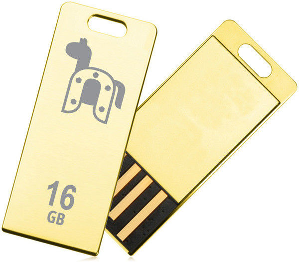 Flash Drive Transcend JetFlash T3G 16 GB Golden (Limited Edition)