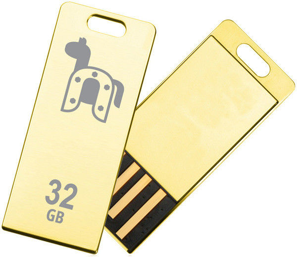 Flash Drive Transcend JetFlash T3G 32 GB Golden (Limited Edition)