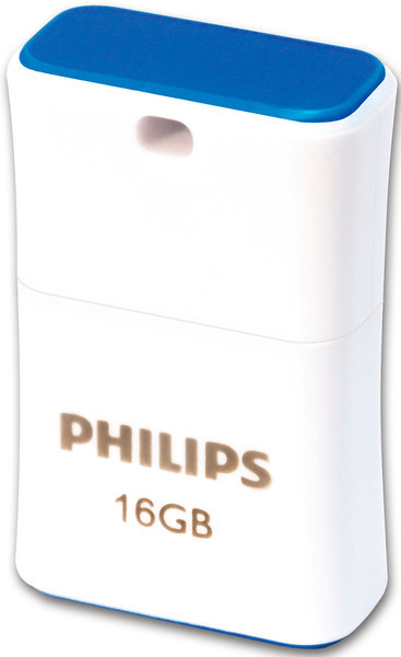 Flash Drives Philips Pico 16 GB White/Blue