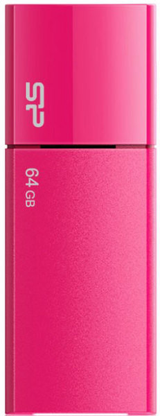 Flash Drive Silicon Power Ultima U05 64 GB Peach