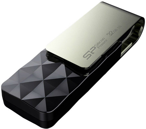 Flash Drive Silicon Power Blaze B30 32 GB Black