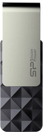 Flash Drive Silicon Power Blaze B30 8 GB Black