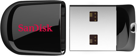 Flash Drive Sandisk USB Cruzer Fit 64 GB