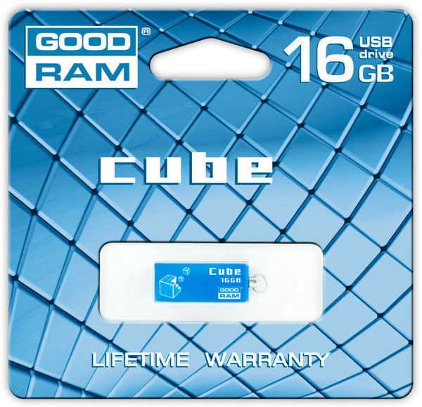 Flash Drive GOODRAM Cube 16 GB Blue
