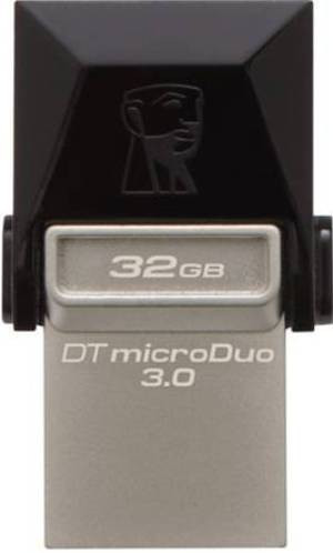 Flash Drive Kingston DT MicroDuo 32 GB, OTG, USB 3.0