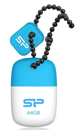 Flash Drive Silicon Power Touch T07 4 GB Blue