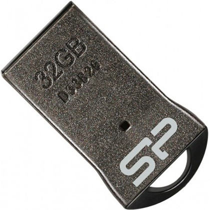 Flash Drive Silicon Power Touch T01 32 GB Black, no chain