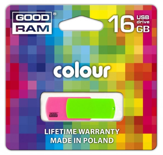 Flash Drive GOODRAM Colour 16 GB Mix Retail 9