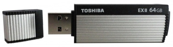 Flash Drives Toshiba TransMemory-EX II 64 GB USB 3.0