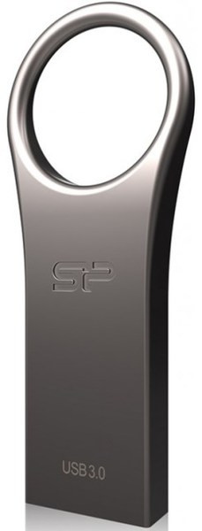 Flash Drive Silicon Power Jewel J80 8 GB USB 3.0 Titanium