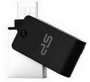 Flash Drive Silicon Power Mobile X21 8 GB , OTG, Black