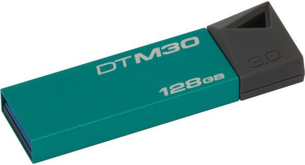 Flash Drive Kingston DTM30 Mini 128GB USB 3.0 Emerald