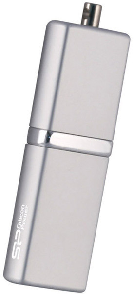 Flash Drive Silicon Power LuxMini 710 4 GB Silver