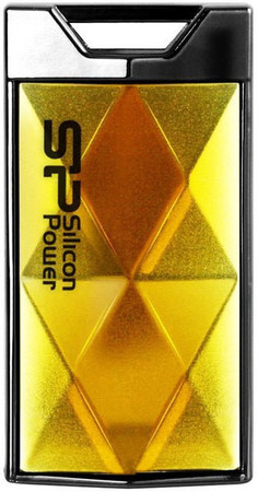 Flash Drive Silicon Power Touch 850 4 GB Amber