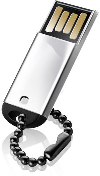 Flash Drive Silicon Power Touch 830 4 GB Silver