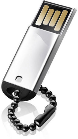 Flash Drive Silicon Power Touch 830 8 GB Silver