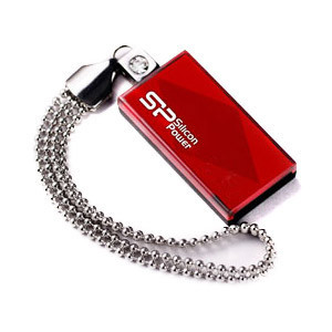 Flash Drive Silicon Power Touch 810 16 GB Red