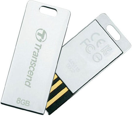 Flash Drive Transcend JetFlash T3S 8 GB Silver