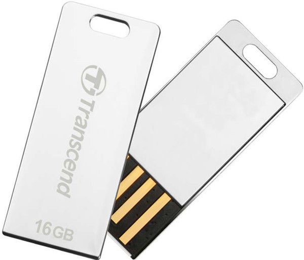 Flash Drive Transcend JetFlash T3S 16 GB Silver