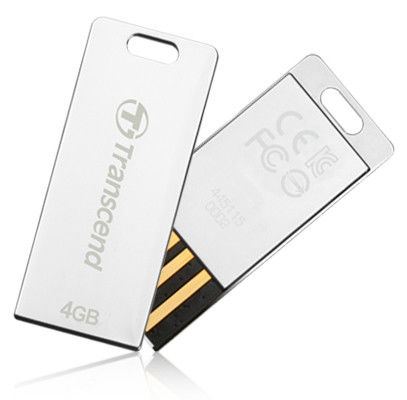 Flash Drive Transcend JetFlash T3S 4 GB Silver
