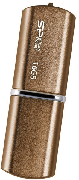 Flash Drive Silicon Power Lux Mini 720 16 GB Bronze