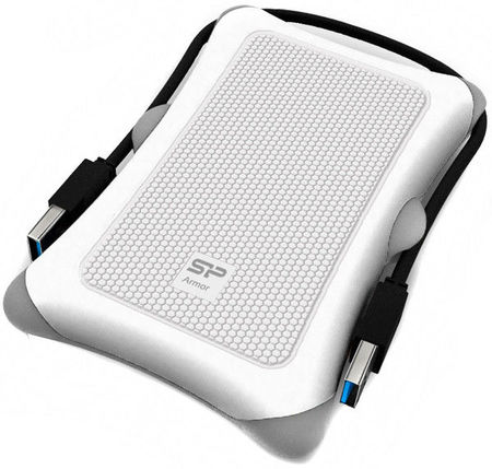 Накопитель Silicon Power Armor A30 1 TB USB 3.0 White