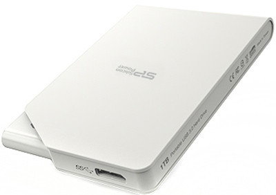 Накопитель Silicon Power Stream S03 1 TB USB 3.0 White