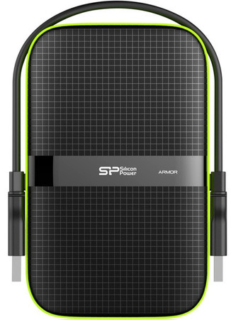 Накопитель Silicon Power Armor A60 500 GB USB 3.0 Black