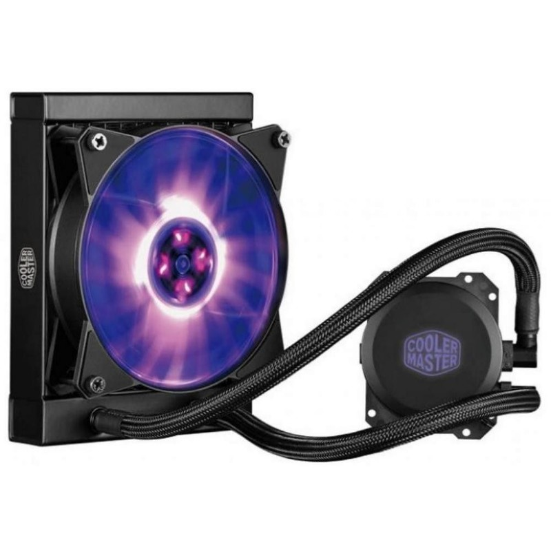 Жидкосное охлаждение Cooler Master MasterLiquid ML120L RGB (MLW-D12M-A20PC-R1)