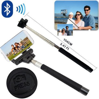 Палка для селфи Monopod Z07-5 Wireless (Black)