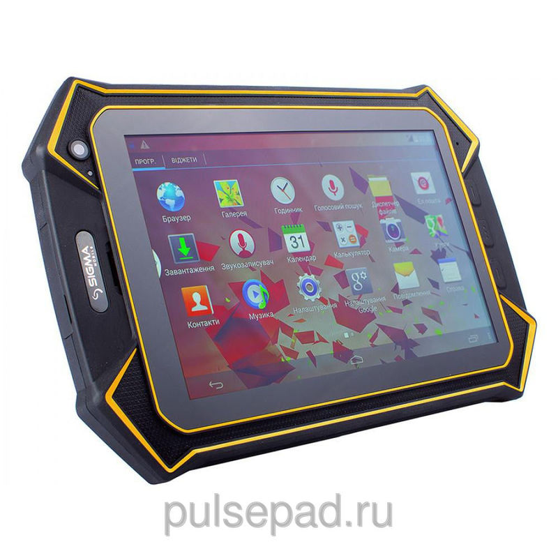 Планшет Sigma mobile Х-treme PQ70 yellow-black