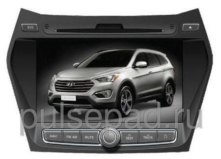 Штатная магнитола Phantom HYUNDAI Santa Fe DVM-1070G iS