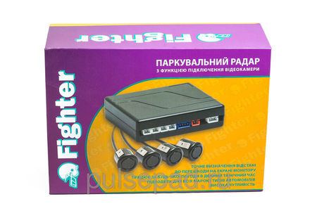 Парктроник Fighter FPS-01V Black