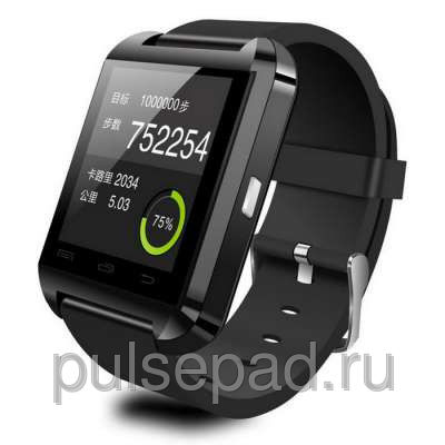 Умные часы UWatch Smart U8 (Black)