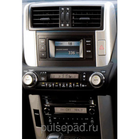 "Рамка переходная 11-339 (Carav) Toyota LC Prado (150) 2009+ (with 4.2"" display)"