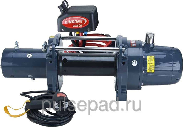 Лебедка KINGONE WINCH HEAVY DUTY TDS-20.0 12V. 9т