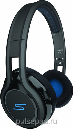 SMS Audio STREET by 50 Wired On Ear Headphones - Black