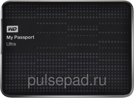 Жесткий диск WD My Passport Ultra WDBZFP0010BBK