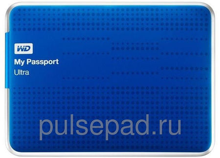 Жесткий диск WD My Passport Ultra WDBZFP0010BBL