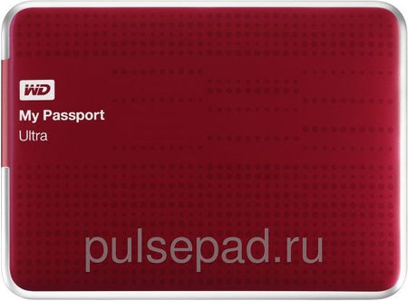 Жесткий диск WD My Passport Ultra WDBZFP0010BRD