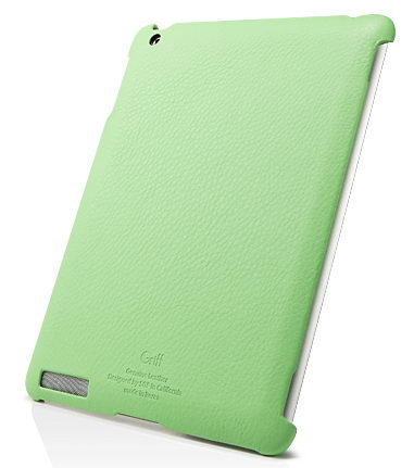 SGP Leather Case Griff Series Lime for iPad 2 (SGP07699)