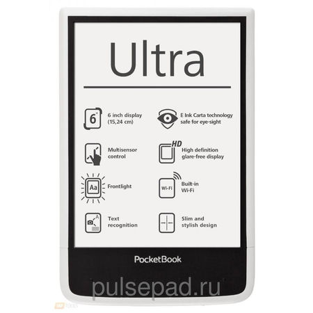 Электронная книга Pocketbook Ultra 650 (White)