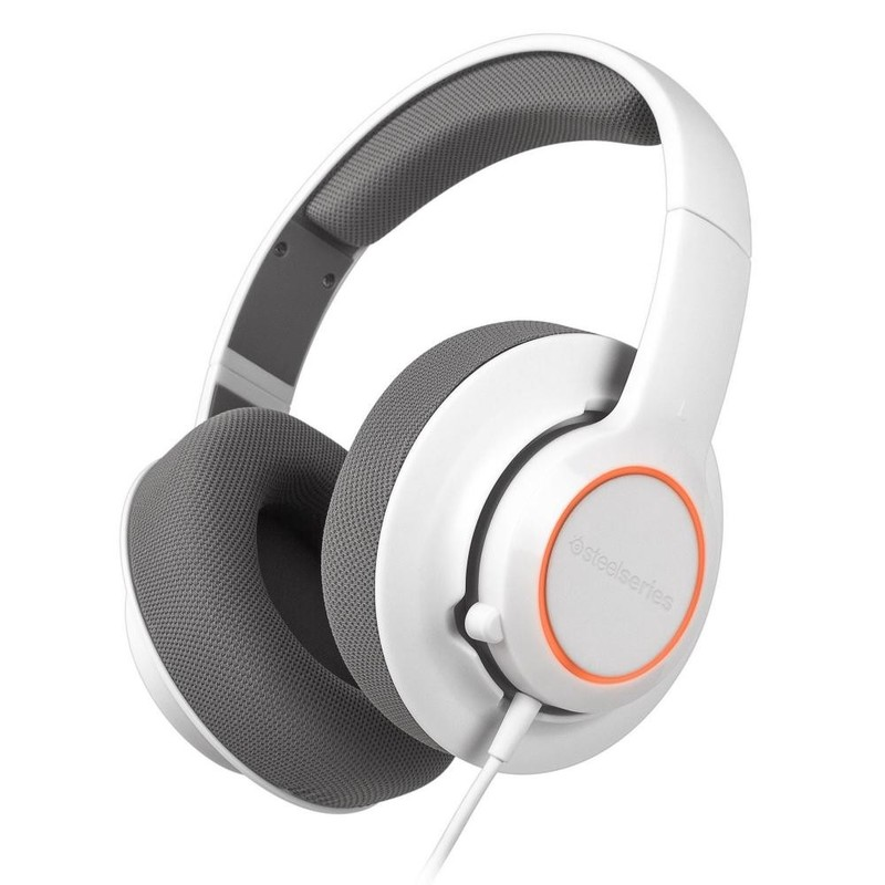 Гарнитура для компьютера SteelSeries Siberia RAW Prism White (61410) Original Factory RB