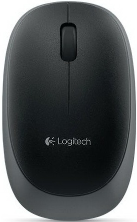 Мышь Logitech M165 Wireless Mouse Black (910-004110) (эконом упаковка)