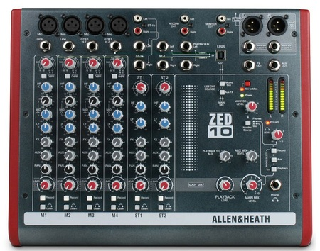 Микшерный пульт ALLEN&HEATH ZED10