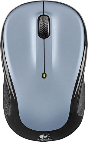 Мышь Logitech M325 Wireless Mouse Light Silver (эконом упаковка)