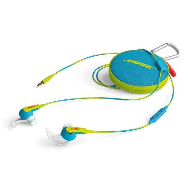 Наушники Bose SoundSport Neon Blue