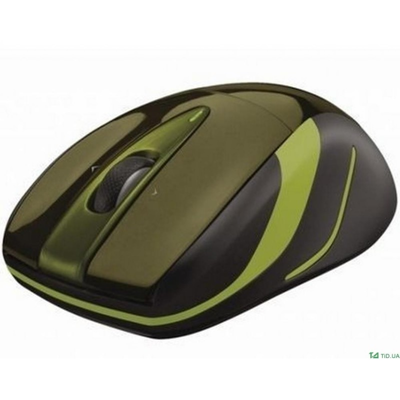 Мышь LOGITECH M525 Wireless Mouse Green/Gold (эконом упаковка)