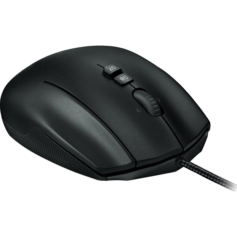 Мышь Logitech G600 MMO Gaming Mouse Black (910-003623) (эконом упаковка)